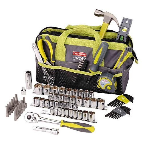 Craftsman-Evolv-83-Pc-Homeowner-Tool-Set-Wbag-41283-0