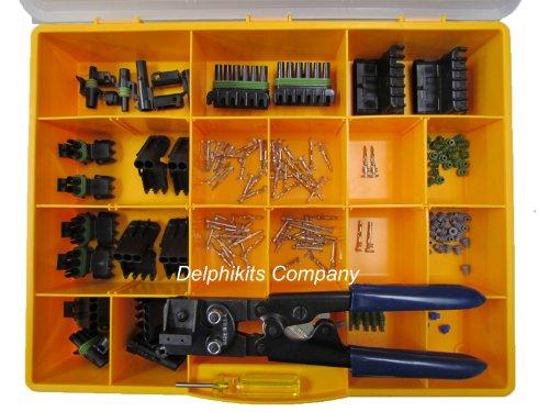 Delphi-Weather-Pack-Kit-155-Pcs-W-12014254-Tool-0