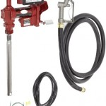 Fill-Rite-FR4211G-High-Flow-Fuel-Transfer-Pump-with-Meter-Telescoping-Suction-Pipe-12-Delivery-Hose-Manual-Release-Nozzle-4-Wheel-Register-Meter-12-Volt-20-GPM-0
