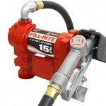 Fill-Rite-FR610G-Fuel-Transfer-Pump-Telescoping-Suction-Pipe-12-Delivery-Hose-Manual-Release-Nozzle-115-Volt-15-GPM-0