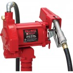 Fill-Rite-FR700V-Fuel-Transfer-Pump-12-Delivery-Hose-Manual-Release-Nozzle-115-Volt-20-GPM-0