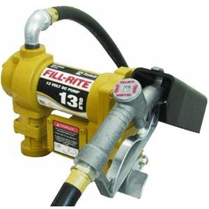 Fill-Rite-SD1202-Fuel-Transfer-Pump-Telescoping-Suction-Pipe-10-Delivery-Hose-Manual-Release-Nozzle-12-Volt-13-GPM-0