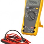 Fluke-177-ESFP-True-RMS-Digital-Multimeter-with-Backlight-50-Megaohm-Resistance-1000V-ACDC-Voltage-10A-ACDC-Current-0