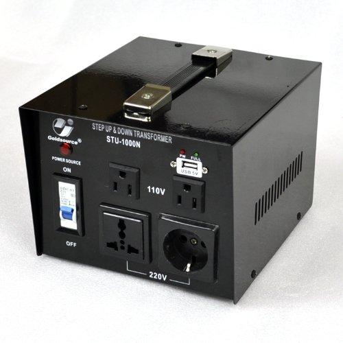 Goldsource-STU-N-Series-Heavy-duty-Step-Up-Down-Voltage-Transformer-Converter-with-DC-5V-USB-Port-AC-110220V-0