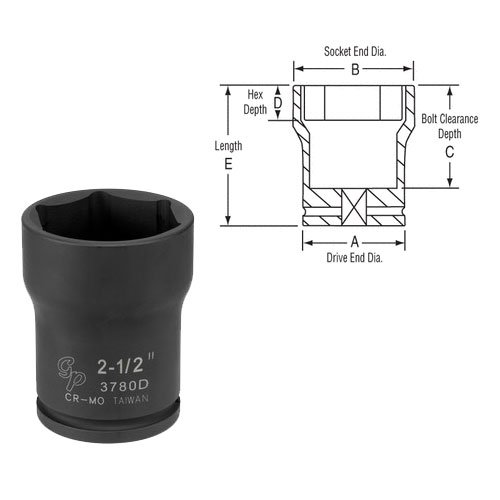 Grey-Pneumatic-3765M-Pinion-Lock-Nut-0
