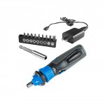 HAMMERHEAD-4V-Lithium-Rechargeable-Screwdriver-with-Patented-Circuit-Sensor-Technology-and-9-Piece-Bit-Kit-0-0
