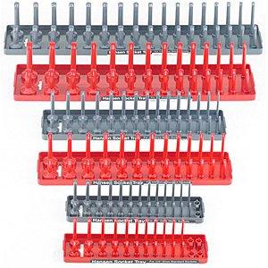 Hansen-Global-92000-SAE-Metric-Socket-Storage-Trays-6-Piece-Set-0