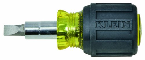 Klein-32561-Std-Stubby-ScrewdriverNut-Driver-with-Cushion-Grip-6-in-1-Tool-0