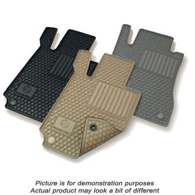 Mercedes-Benz-C-Class-Black-All-Weather-Rubber-Floor-Mat-Sets-0