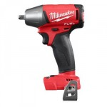 Milwaukee-2754-20-M18-FUEL-38-Compact-Impact-Wrench-Torque-210-ft-lbs-2520-in-lbs-4-Speed-Mode-Bare-Tool-0-0