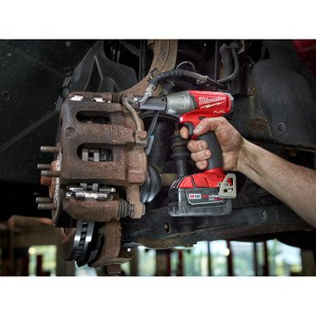 Milwaukee-2754-20-M18-FUEL-38-Compact-Impact-Wrench-Torque-210-ft-lbs-2520-in-lbs-4-Speed-Mode-Bare-Tool-0-1