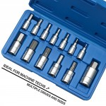 Neiko-10075A-Hex-Allen-Bit-SAE-Socket-Set-564-916-Inch-S2-Steel-13-Piece-Set-0-1