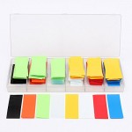 Ninth-City-280pcs-8-Color-Assorted-Box-295MM185MM-Flat-PVC-Heat-Shrink-Tubing-Tube-For-18650-18500-Battery-with-Storage-Case-0
