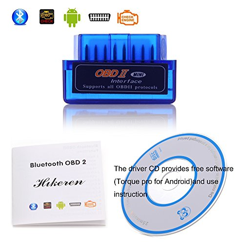 OBDIIHikeren-Bluetooth-OBD2-OBDII-Car-Diagnostic-Adapter-Check-Engine-Light-for-Android-and-Windows-System-Compatible-with-Torque-Pro-0-0