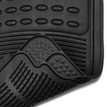 OxGord-FMPV01A-BK-Front-Rear-Driver-Passenger-Seat-Ridged-Heavy-Duty-Rubber-Floor-Mats-for-Cars-SUVs-Vans-Trucks-Black-Pack-of-4-0-1