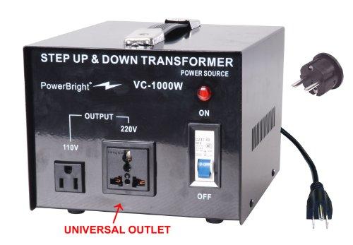 Power-Bright-Voltage-Transformer-100-Watt-Step-UpDown-110-Volt-220-Volt-0