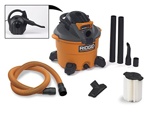 RIDGID-Wet-Dry-Vacuums-VAC1200-Heavy-Duty-Wet-Dry-Vacuum-Cleaner-and-Blower-Vac-12-Gallon-50-Peak-Horsepower-Detachable-Leaf-Blower-Vacuum-Cleaner-with-Pro-Grade-Hose-0-0