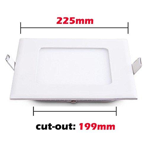 RioRand-18-Watt-LED-Panel-Light-Square-Recessed-Lighting-Fixture-Kit-Warm-White-0-0