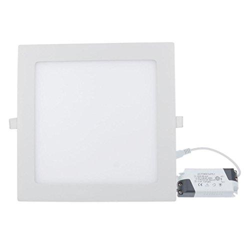 RioRand-18-Watt-LED-Panel-Light-Square-Recessed-Lighting-Fixture-Kit-Warm-White-0