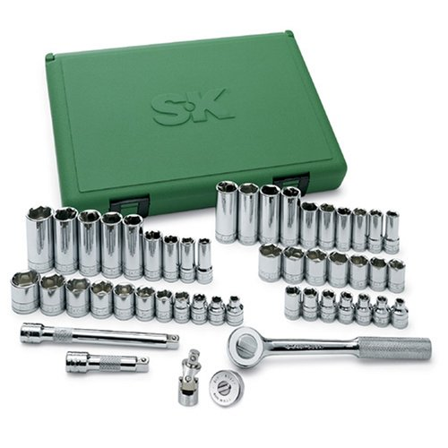 SK-94549-38-Inch-Drive-6-Point-FractionalMetric-Socket-Set-49-Piece-0