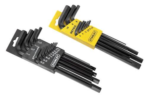 Stanley-85-753-22-Piece-Long-Arm-SAE-Metric-Hex-Key-Set-0