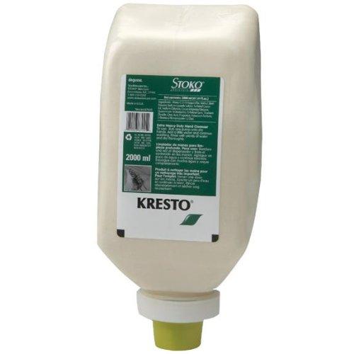 Stoko-Kresto-87045-Hand-Cleaner-2000-mL-SoftBottle-Case-of-6-0