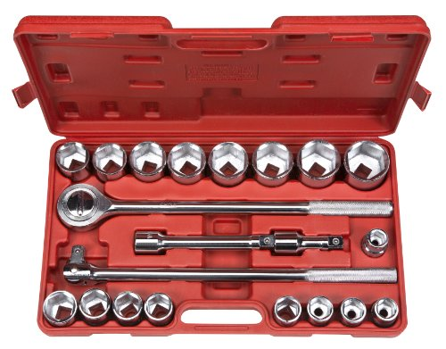 TEKTON-1100-34-Inch-Drive-Jumbo-Socket-Set-Metric-21-Piece-0
