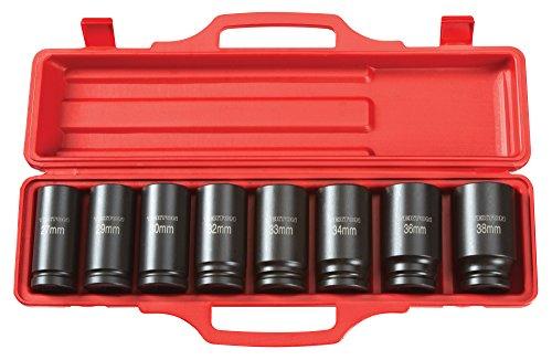 TEKTON-4889-34-Drive-Deep-Impact-Socket-Set-27-38mm-Metric-Cr-V-8-Sockets-0