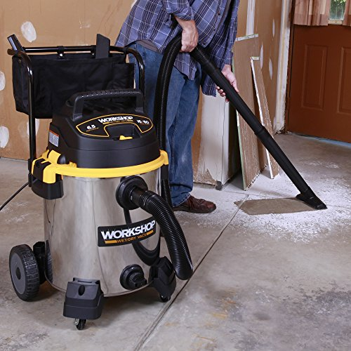 WORKSHOP-Stainless-Wet-Dry-Vac-WS1600SS-Heavy-Duty-Stainless-Steel-Wet-Dry-Vacuum-Cleaner-16-Gallon-Stainless-Steel-Shop-Vacuum-Cleaner-65-Peak-HP-Wet-And-Dry-Vacuum-0-1