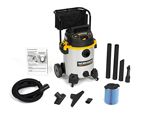 WORKSHOP-Stainless-Wet-Dry-Vac-WS1600SS-Heavy-Duty-Stainless-Steel-Wet-Dry-Vacuum-Cleaner-16-Gallon-Stainless-Steel-Shop-Vacuum-Cleaner-65-Peak-HP-Wet-And-Dry-Vacuum-0